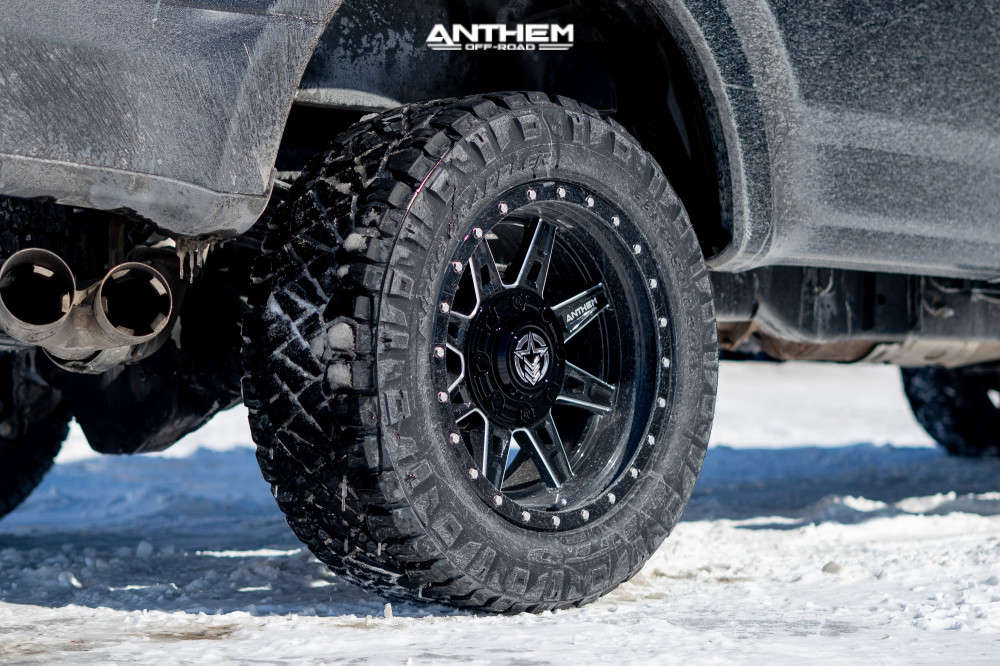 6 2020 F 350 Super Duty Ford Stock Air Suspension Anthem Off Road Rogue Machined Black