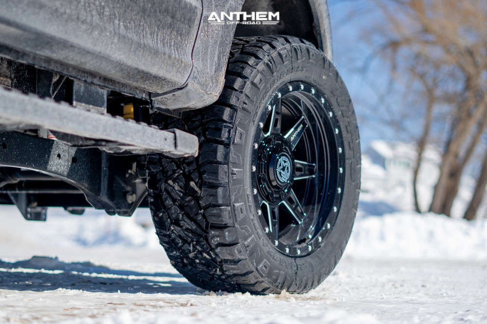 7 2020 F 350 Super Duty Ford Stock Air Suspension Anthem Off Road Rogue Machined Black