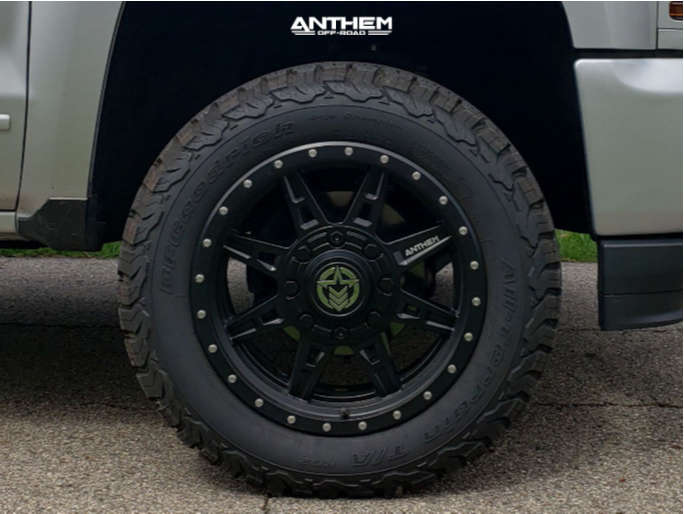 5 2018 Silverado 1500 Chevrolet Motofab Leveling Kit Anthem Off Road Rogue Matte Black