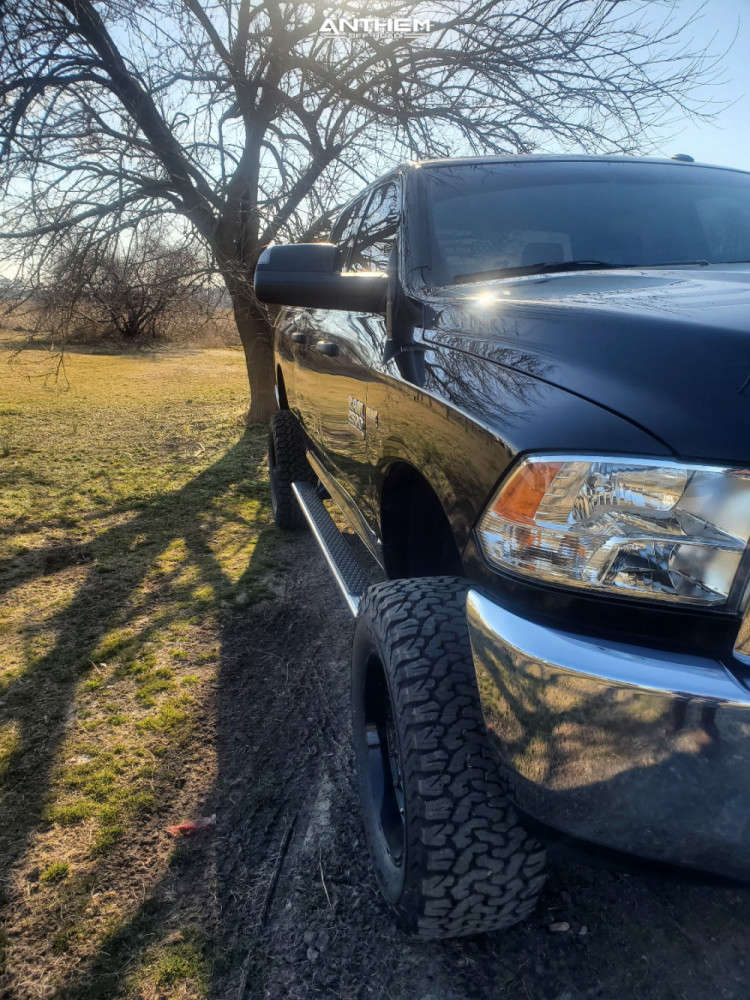 4 2018 Ram 2500 Dodge Rough Country Suspension Lift 5in Anthem Off Road Viper Black