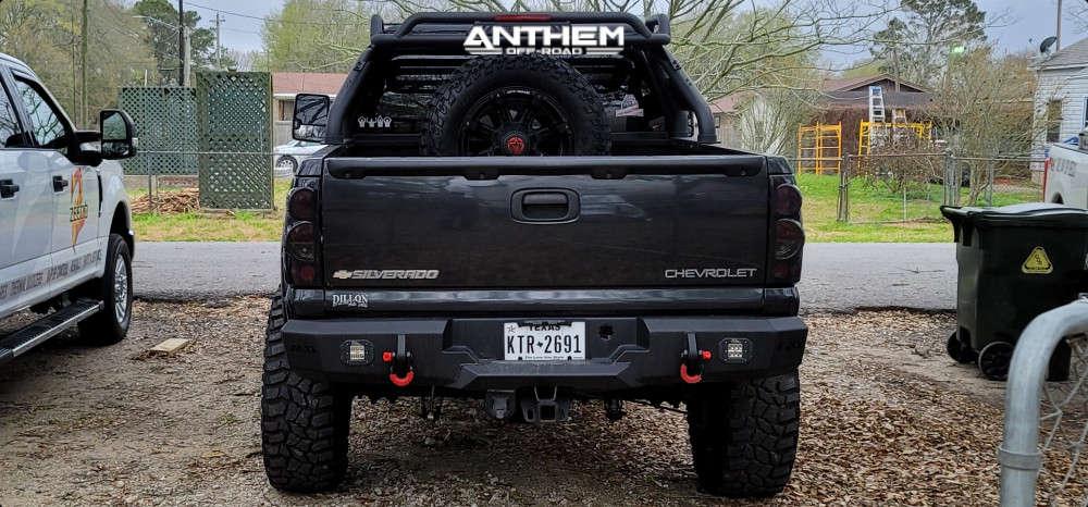 3 2005 Silverado 1500 Chevrolet Mcgaughys Suspension Lift 9in Anthem Off Road Defender Black