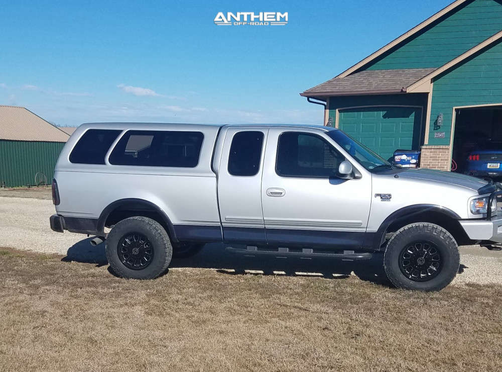 1 2000 F 150 Ford 2 Inch Level Leveling Kit Body Lift Anthem Off Road Intimidator Black