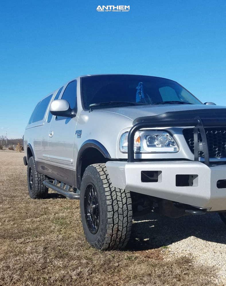 3 2000 F 150 Ford 2 Inch Level Leveling Kit Body Lift Anthem Off Road Intimidator Black