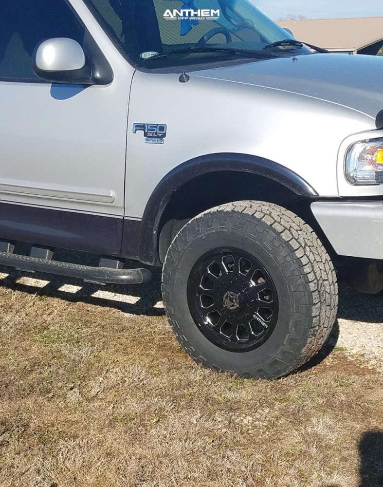 4 2000 F 150 Ford 2 Inch Level Leveling Kit Body Lift Anthem Off Road Intimidator Black