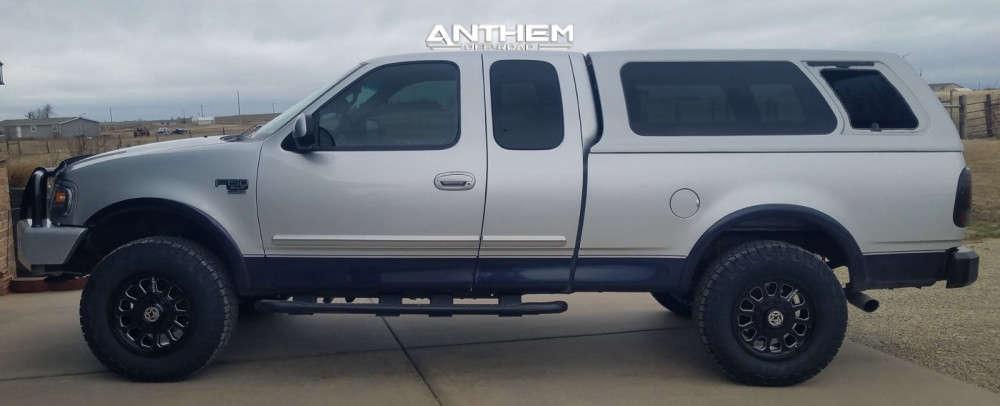 5 2000 F 150 Ford 2 Inch Level Leveling Kit Body Lift Anthem Off Road Intimidator Black
