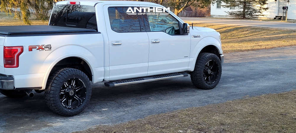 4 2016 F 150 Ford Motofab Leveling Kit Anthem Off Road Equalizer Machined Black