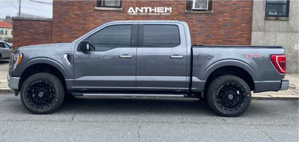 12 2021 F 150 Ford 2 Inch Level Leveling Kit Anthem Off Road Avenger Black