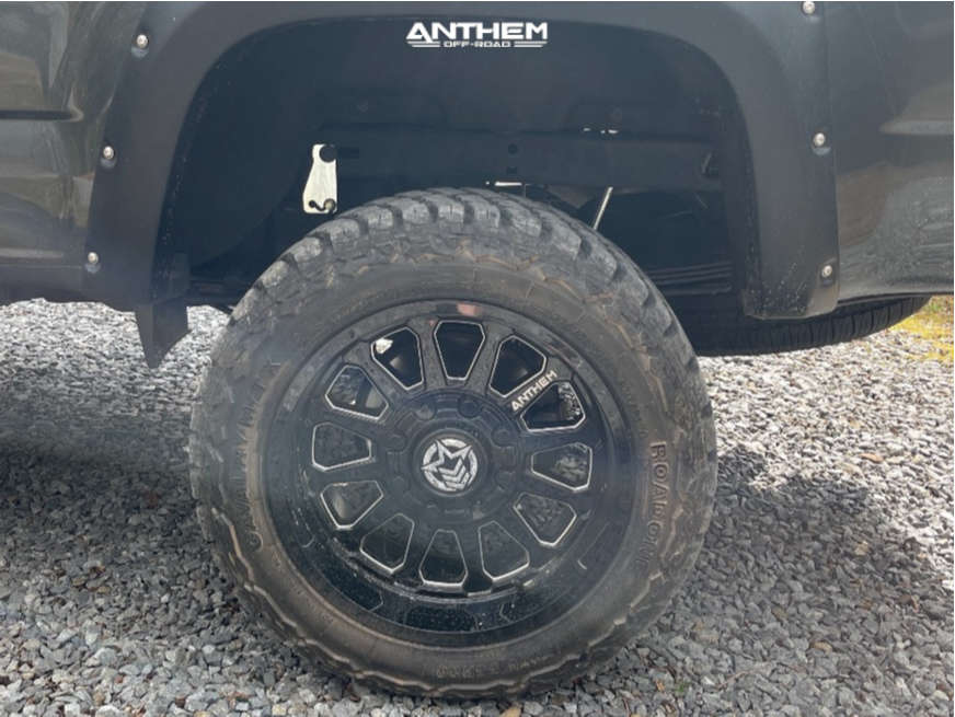 11 2017 Colorado Chevrolet Rough Country Suspension Lift 6in Anthem Off Road Intimidator Black