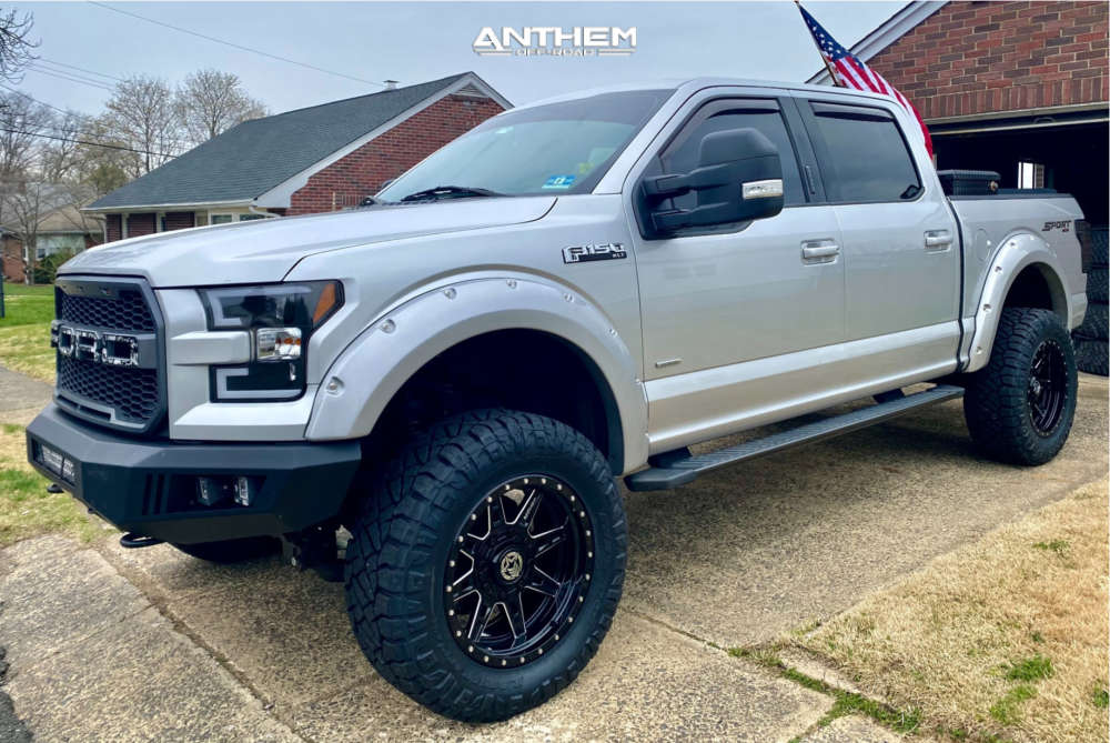 1 2015 F 150 Ford Bds Suspension Lift 6in Anthem Off Road Rogue Black