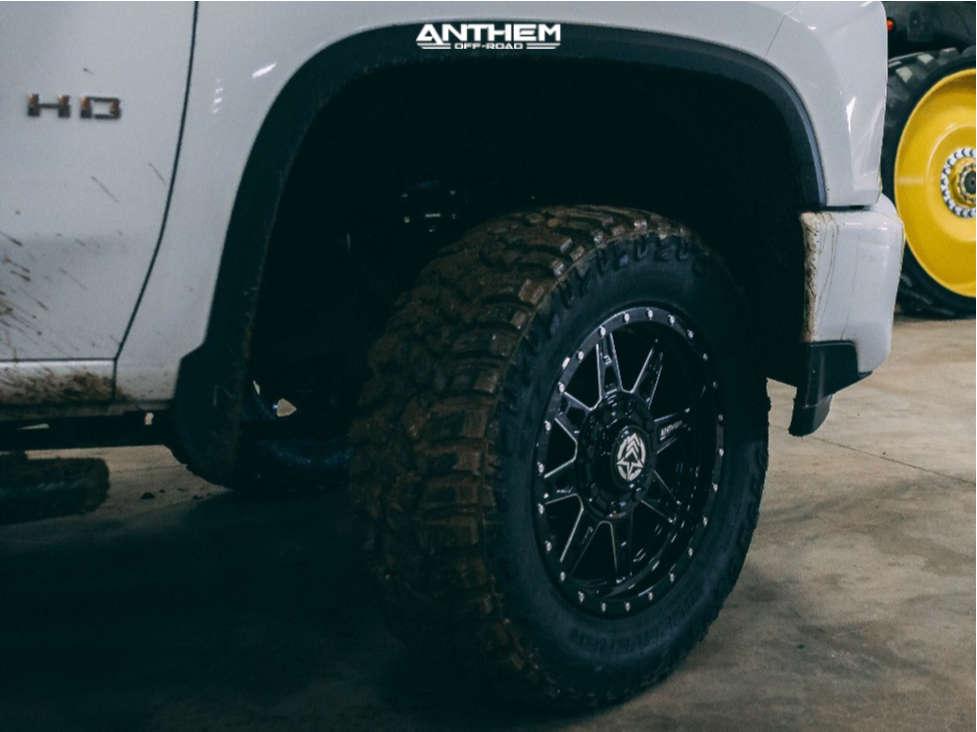 15 2021 Silverado 3500 Hd Chevrolet Kryptonite Leveling Kit Anthem Off Road Rogue Black