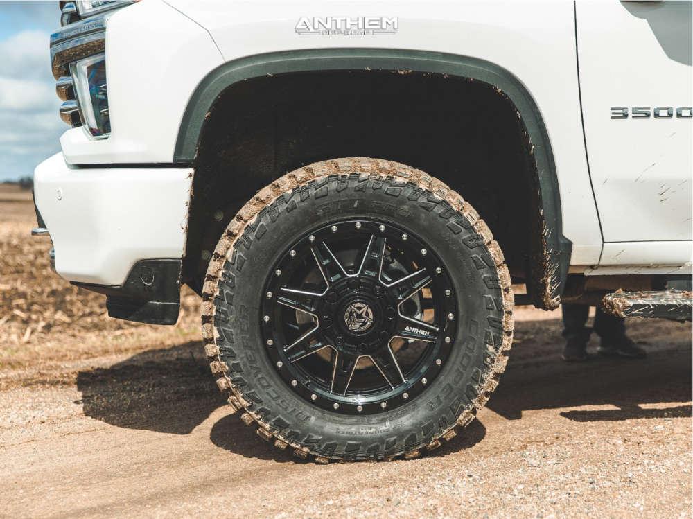 9 2021 Silverado 3500 Hd Chevrolet Kryptonite Leveling Kit Anthem Off Road Rogue Black