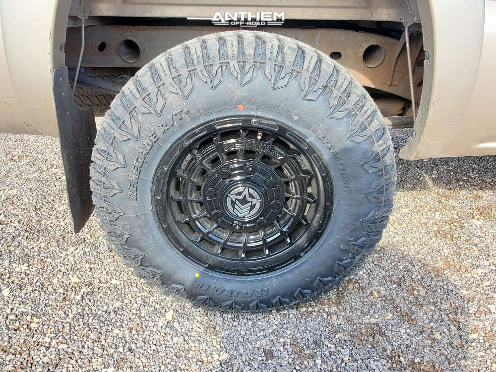 11 2006 Sierra 1500 Gmc Rough Country Leveling Kit Anthem Off Road Viper Black