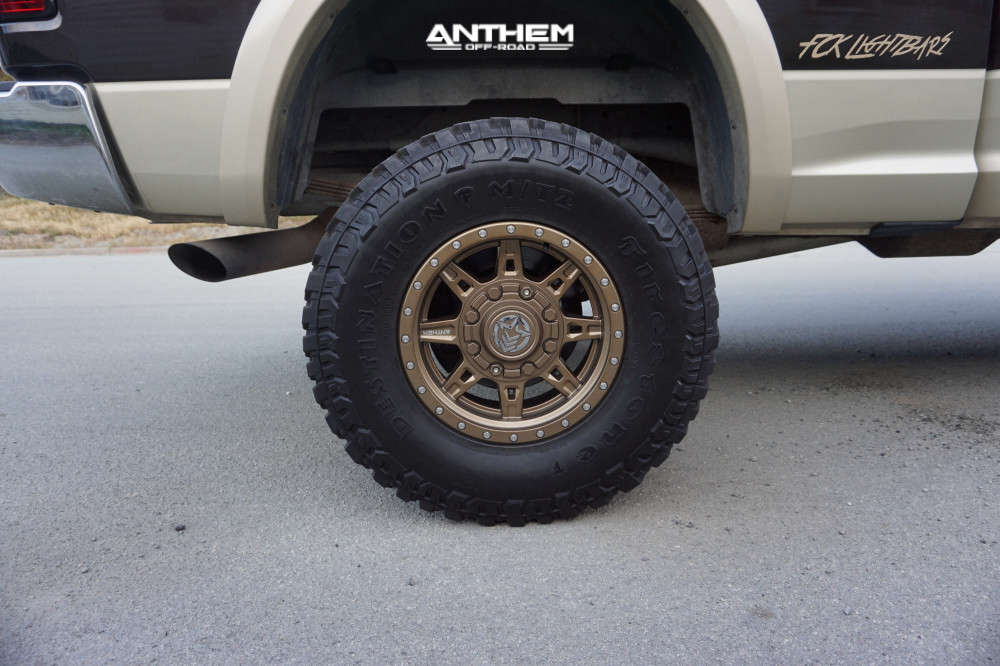 11 2011 2500 Ram Rough Country Suspension Lift 5in Anthem Off Road Rogue Bronze