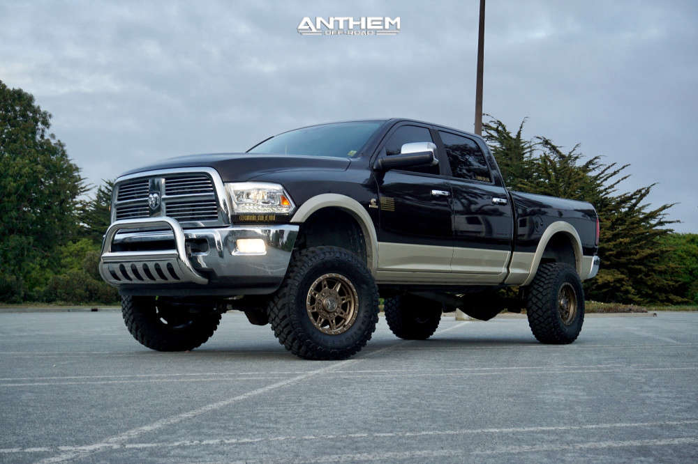 12 2011 2500 Ram Rough Country Suspension Lift 5in Anthem Off Road Rogue Bronze