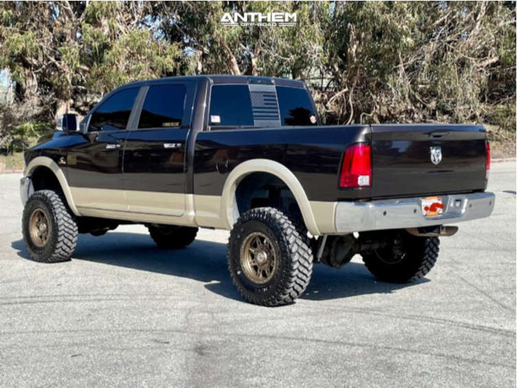 4 2011 2500 Ram Rough Country Suspension Lift 5in Anthem Off Road Rogue Bronze
