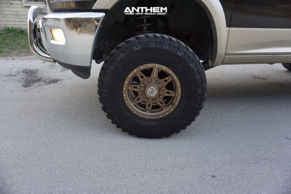 6 2011 2500 Ram Rough Country Suspension Lift 5in Anthem Off Road Rogue Bronze