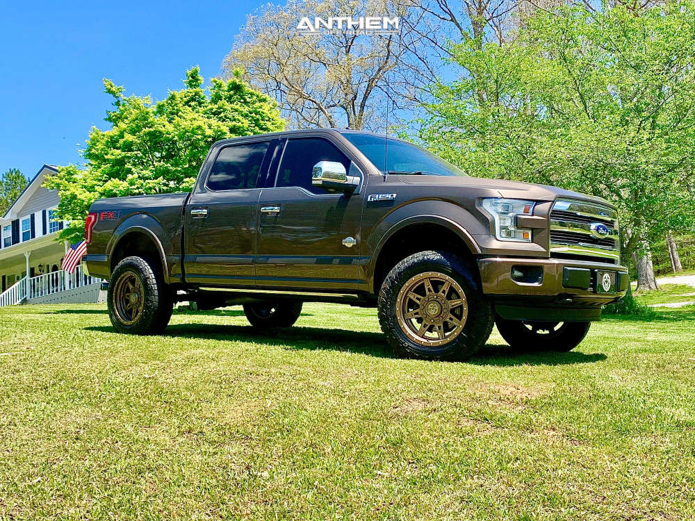 12 2016 F 150 Ford Readylift Suspension Lift 35in Anthem Off Road Rogue Bronze