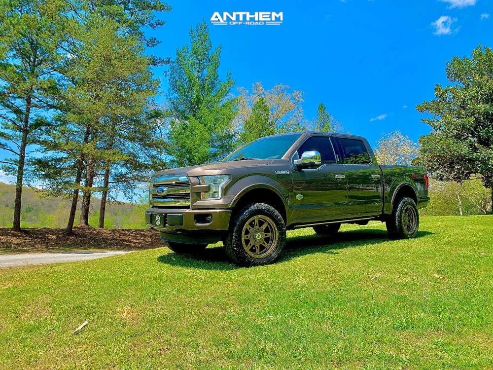 13 2016 F 150 Ford Readylift Suspension Lift 35in Anthem Off Road Rogue Bronze