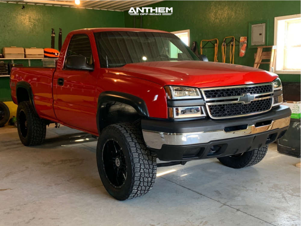 1 2006 Silverado 1500 Chevrolet Rough Country Suspension Lift 6in Anthem Off Road Equalizer Machined Accents