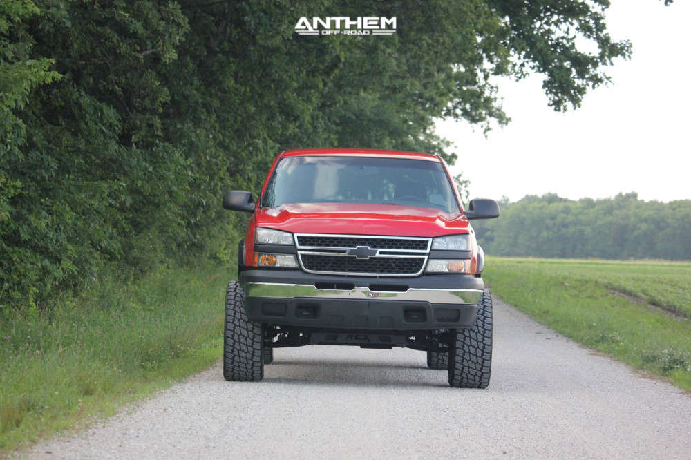 13 2006 Silverado 1500 Chevrolet Rough Country Suspension Lift 6in Anthem Off Road Equalizer Machined Accents