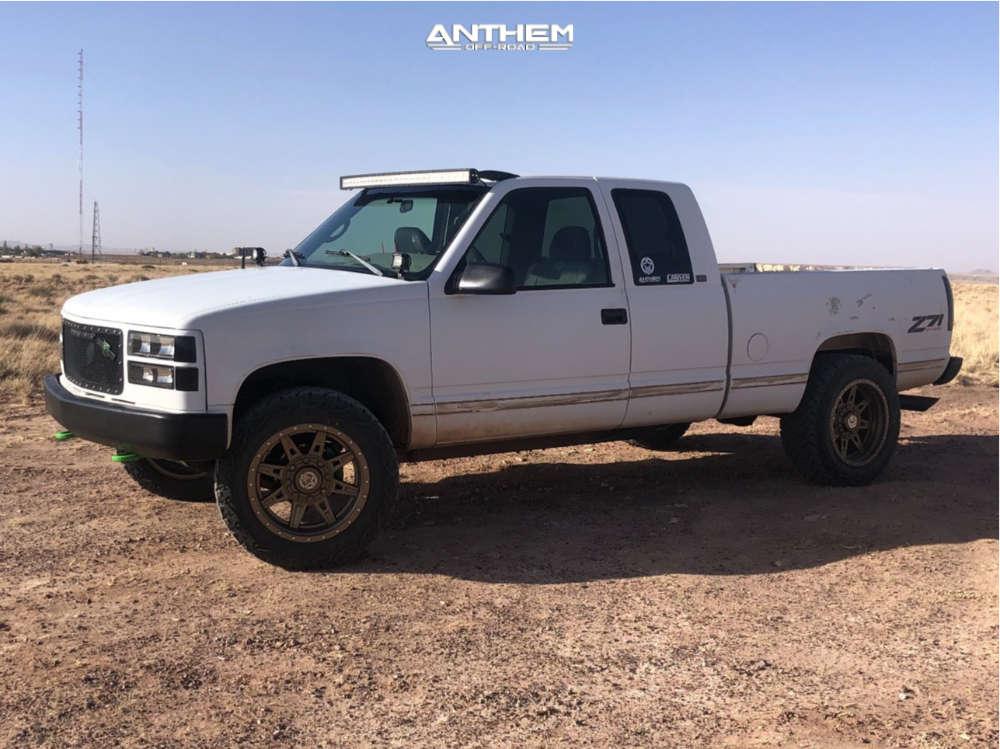 12 1996 K1500 Chevrolet Stock Air Suspension Anthem Off Road Rogue Bronze
