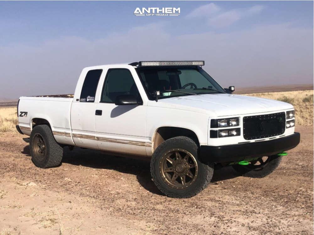 13 1996 K1500 Chevrolet Stock Air Suspension Anthem Off Road Rogue Bronze