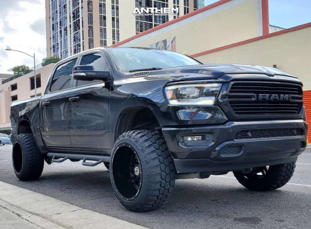 1 2019 1500 Ram Rough Country Suspension Lift 65in Anthem Off Road Equalizer Black