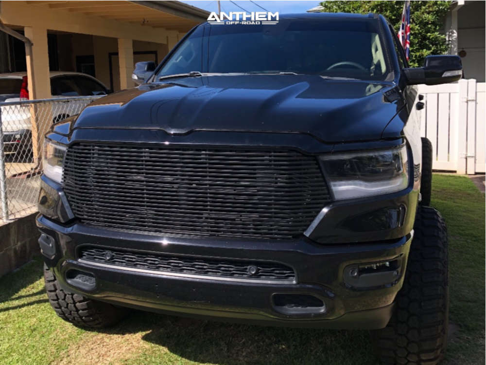 3 2019 1500 Ram Rough Country Suspension Lift 65in Anthem Off Road Equalizer Black