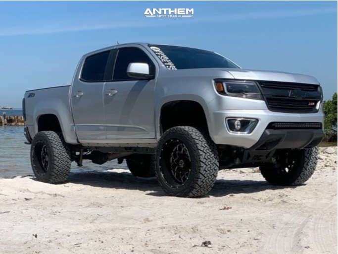 1 2020 Colorado Chevrolet Rough Country Suspension Lift 6in Anthem Off Road Avenger Machined Accents