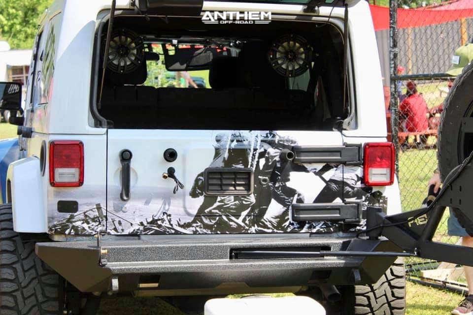 3 2016 Wrangler Jk Jeep Base Rubicon Express Super Flex Suspension Lift 25in Anthem Off Road Viper Black