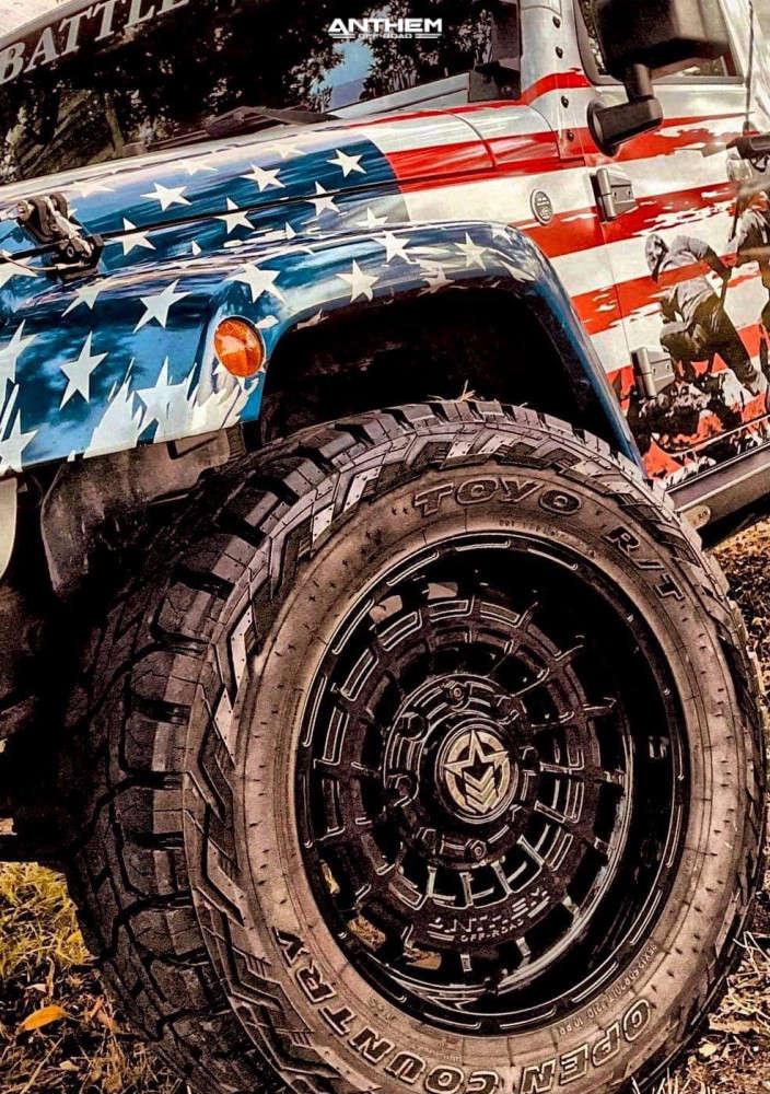 6 2016 Wrangler Jk Jeep Base Rubicon Express Super Flex Suspension Lift 25in Anthem Off Road Viper Black