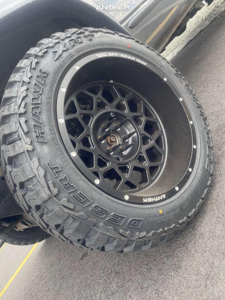 8 2002 Durango Dodge Supreme Suspension Lift 3in Anthem Off Road Avenger Black