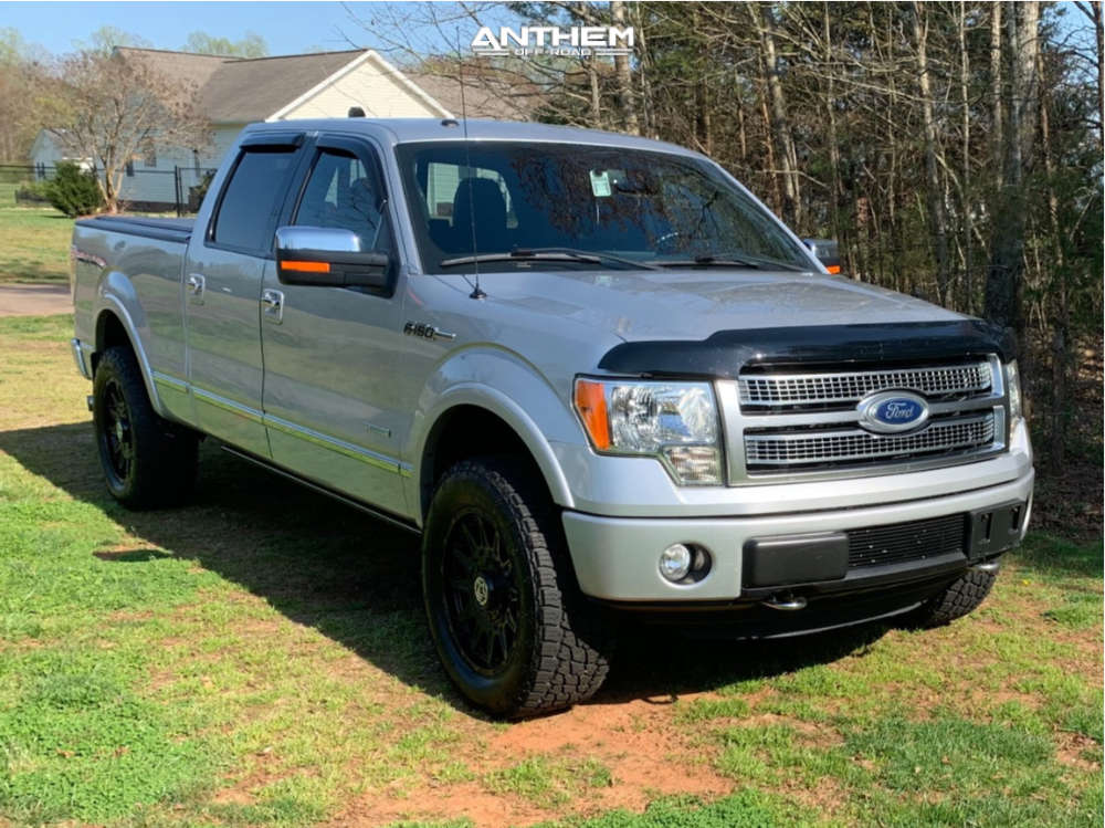 1 2012 F 150 Ford Rancho Leveling Kit Anthem Off Road Liberty Black