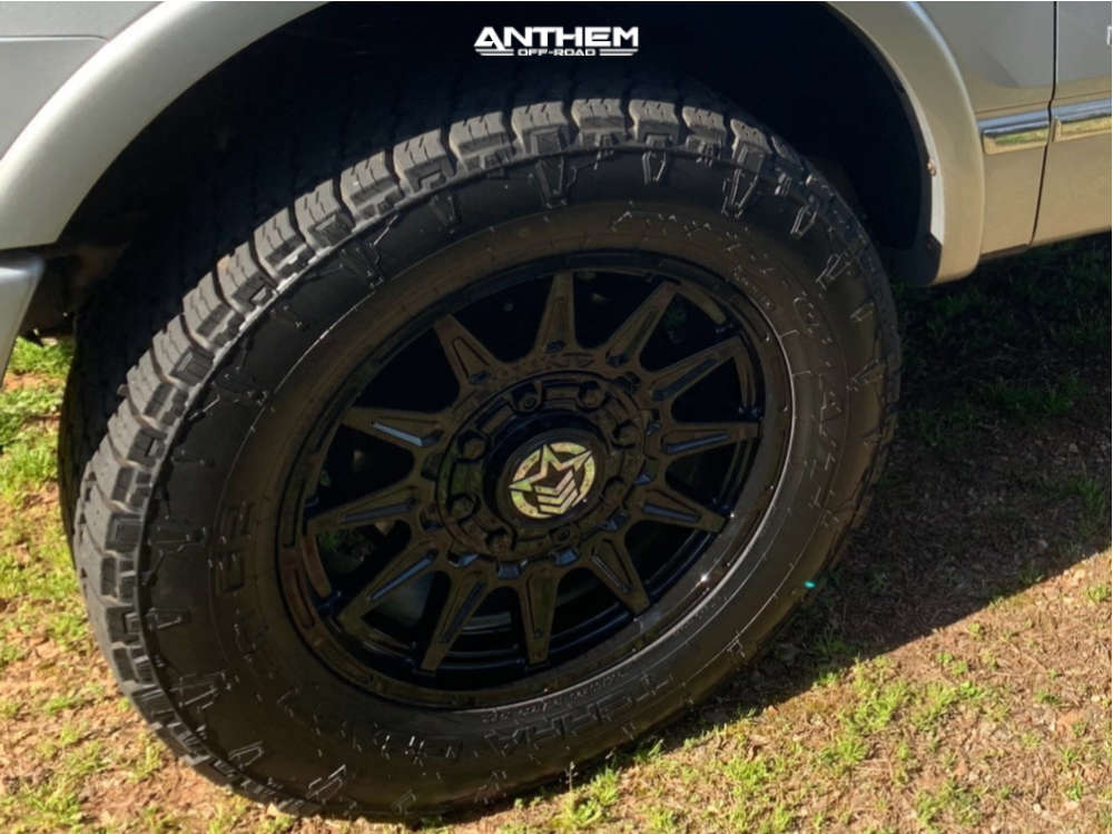 4 2012 F 150 Ford Rancho Leveling Kit Anthem Off Road Liberty Black