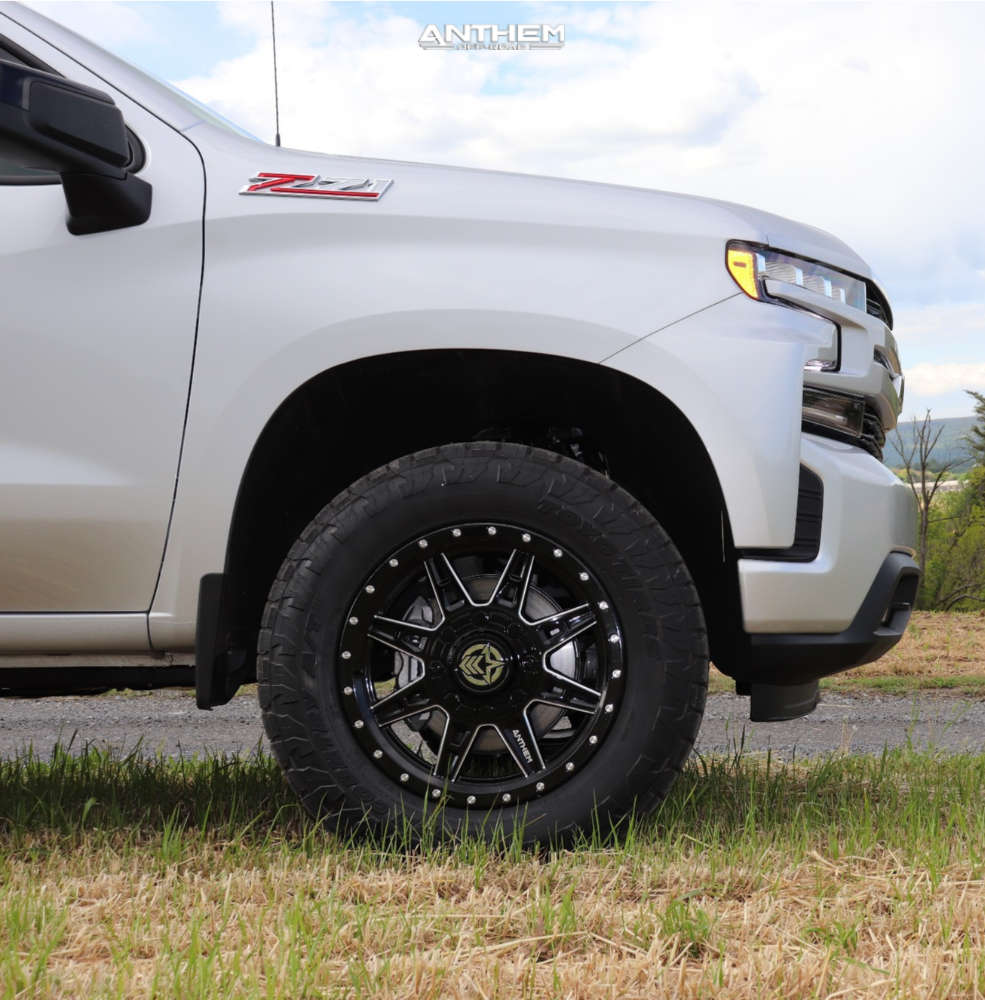 4 2021 Silverado 1500 Chevrolet Readylift Leveling Kit Anthem Off Road Rogue Black