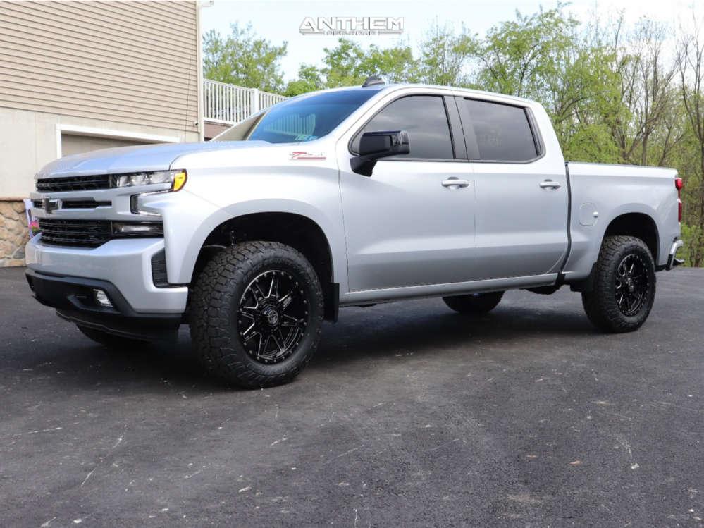 1 2021 Silverado 1500 Chevrolet Readylift Leveling Kit Anthem Off Road Rogue Black