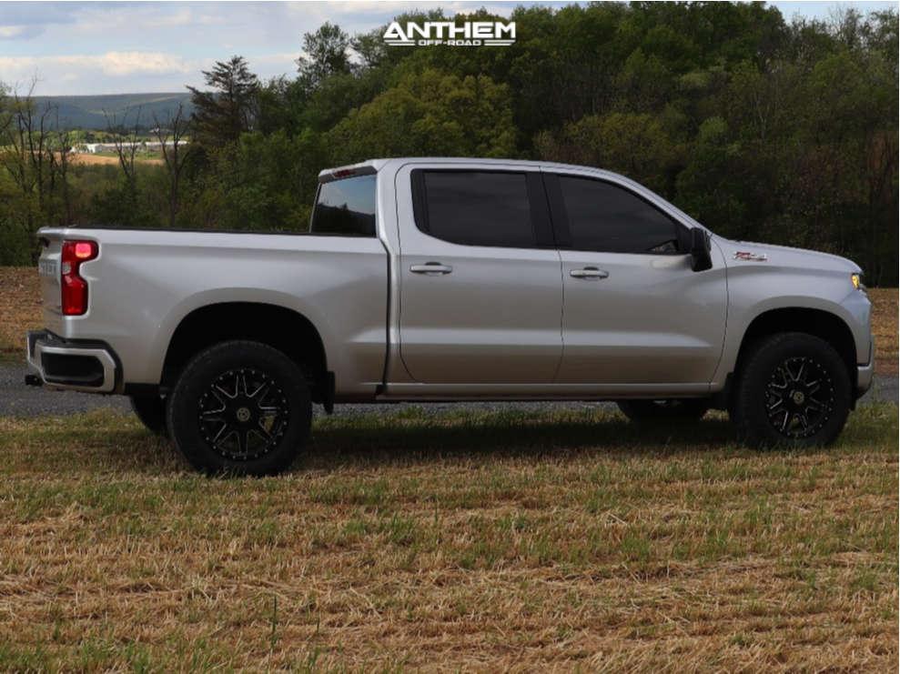 2 2021 Silverado 1500 Chevrolet Readylift Leveling Kit Anthem Off Road Rogue Black