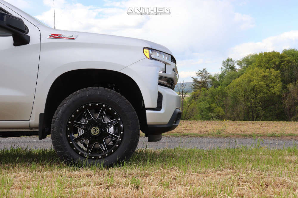 5 2021 Silverado 1500 Chevrolet Readylift Leveling Kit Anthem Off Road Rogue Black