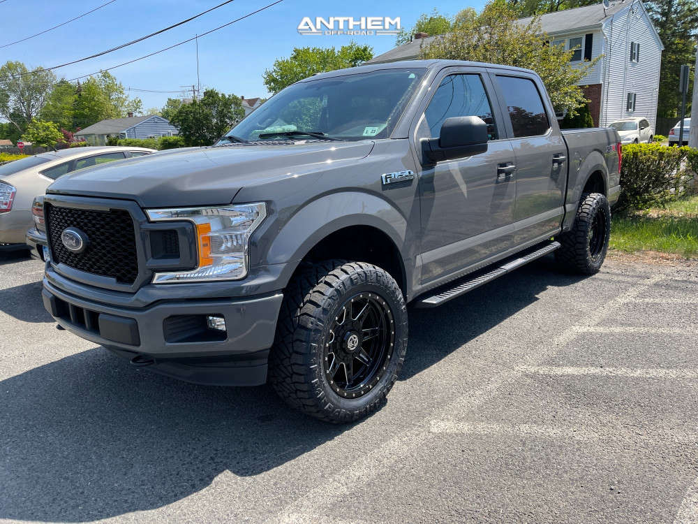 1 2018 F 150 Ford Bds Leveling Kit Anthem Off Road Rogue Black