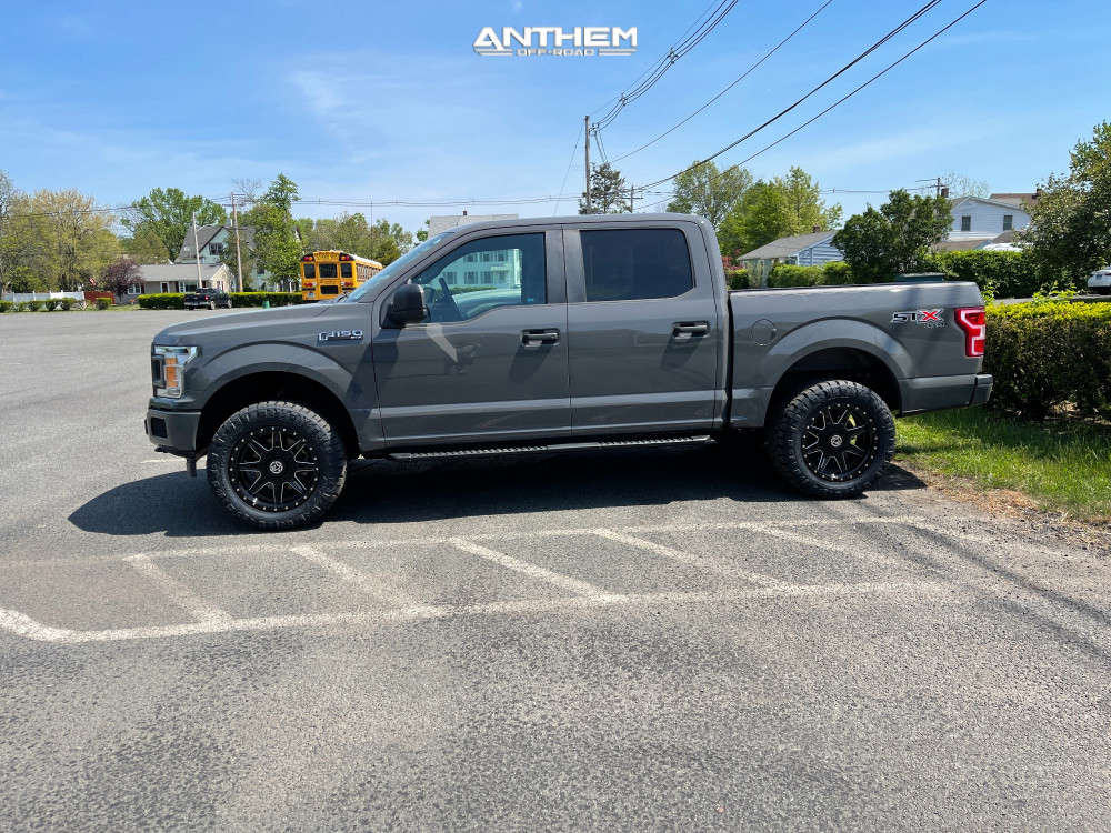 10 2018 F 150 Ford Bds Leveling Kit Anthem Off Road Rogue Black