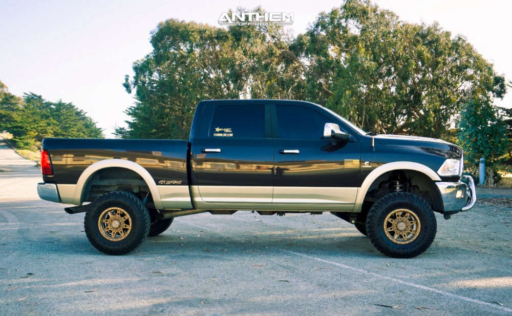 16 2011 2500 Ram Rough Country Suspension Lift 5in Anthem Off Road Rogue Bronze