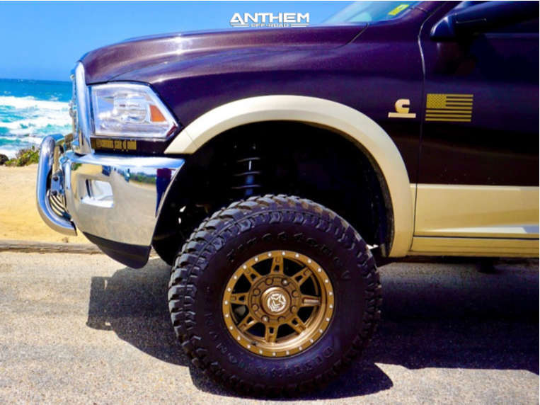 8 2011 2500 Ram Rough Country Suspension Lift 5in Anthem Off Road Rogue Bronze