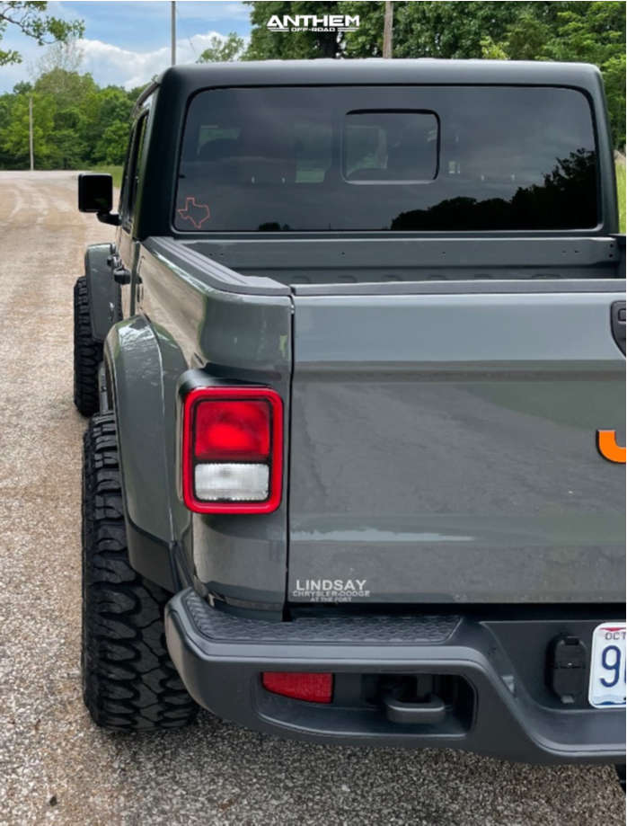 3 2021 Gladiator Jeep Sport Stock Air Suspension Anthem Off Road Avenger Machined Black