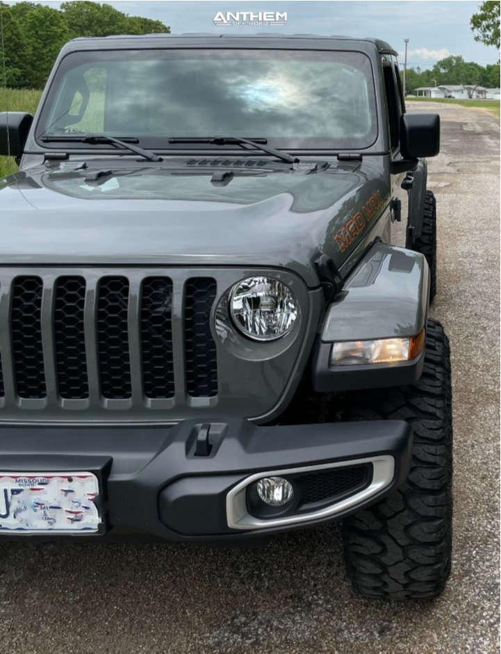 2 2021 Gladiator Jeep Sport Stock Air Suspension Anthem Off Road Avenger Machined Black