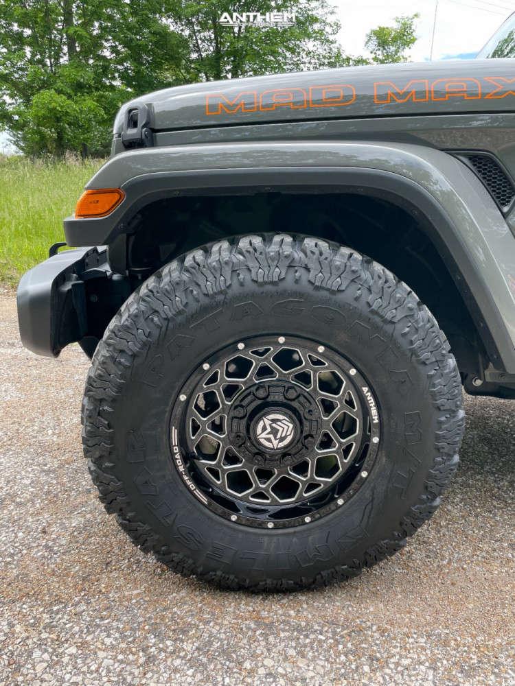 5 2021 Gladiator Jeep Sport Stock Air Suspension Anthem Off Road Avenger Machined Black
