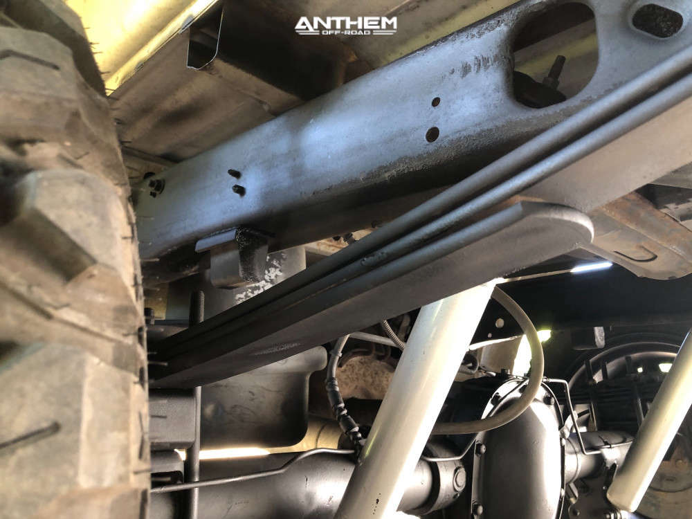10 2003 F 150 Ford Rough Country Suspension Lift 3in Anthem Off Road Equalizer Black