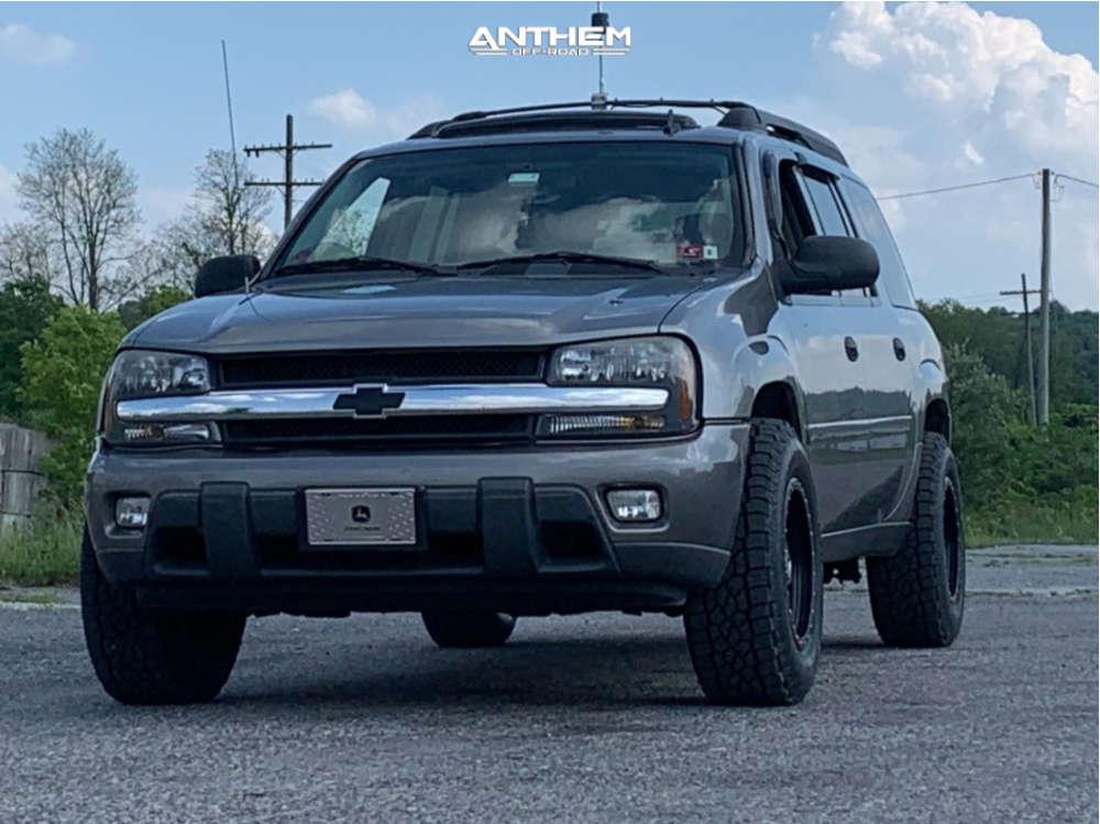 1 2006 Trailblazer Chevrolet Rough Country Leveling Kit Anthem Off Road Rogue Matte Black