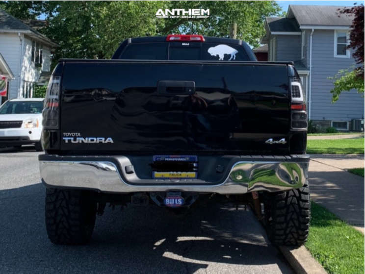 3 2010 Tundra Toyota Superlift Suspension Lift 6in Anthem Off Road Equalizer Machined Black