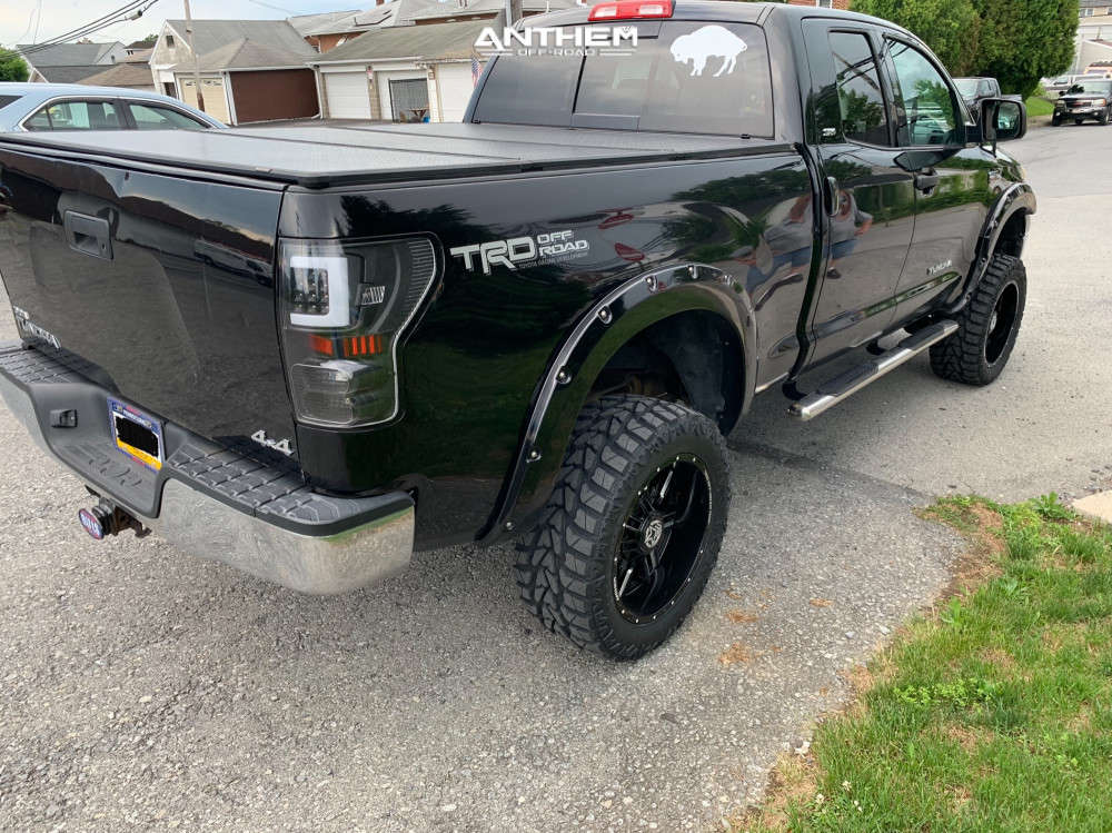 4 2010 Tundra Toyota Superlift Suspension Lift 6in Anthem Off Road Equalizer Machined Black