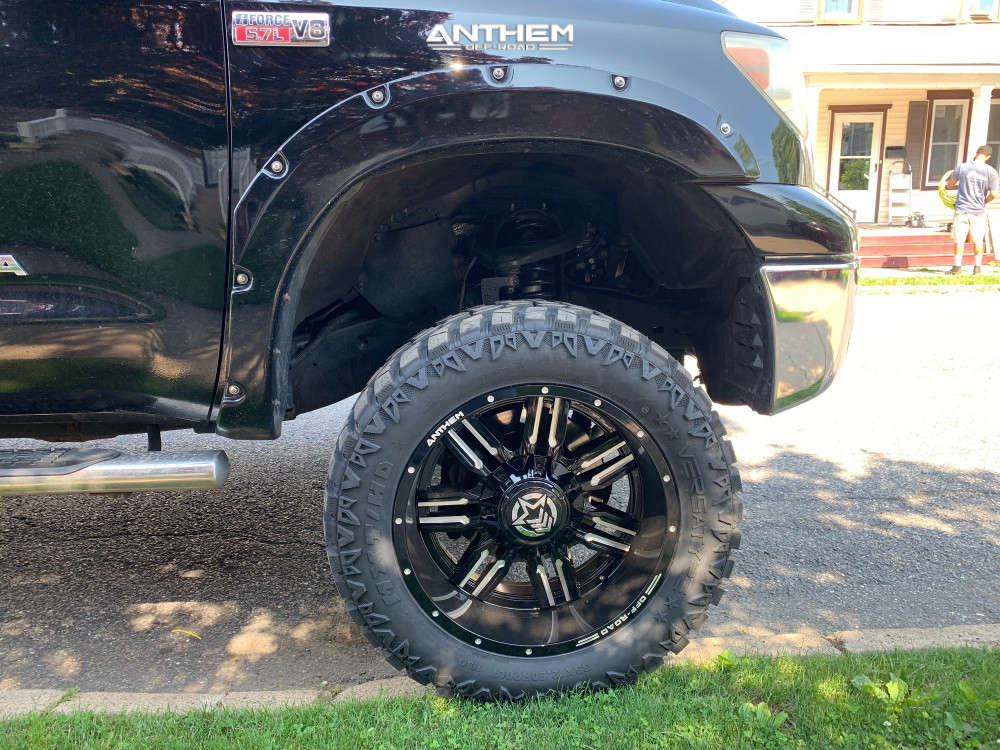 5 2010 Tundra Toyota Superlift Suspension Lift 6in Anthem Off Road Equalizer Machined Black